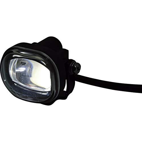 Highsider Motorrad-Scheinwerfer LED-Nebelscheinwerfer MICRO rechteckig schwarz