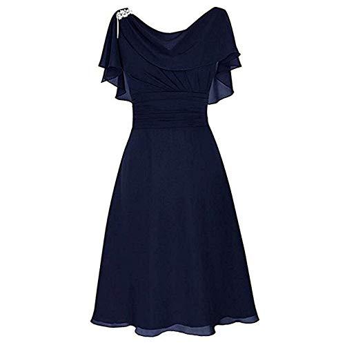 Vestido Azul Juvenil de Cuero para Mujer Negros Cortos Informales Maxi Cocktail 2016 señora Casuales Vestidos veraniegos Fiesta Informales Mujer Boda para Gorditas comunion
