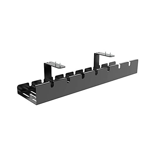 FLEXISPOT ケーブルトレー CMP502 配線整理 ケーブル収納 ケーブルカバー ブラック