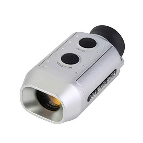 Deeabo Tragbarer digitaler Golf Entfernungsmesser, Elektronisches 7x18 Einrohr Teleskop, Digitales Golf Entfernungsmesser Messgerät, Präzisionsmessung
