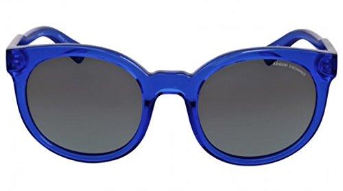 Armani sunglasses for men and women A|X Armani Exchange AX4057S Sunglasses 821011-53 – Transparent Light Blue Frame,
