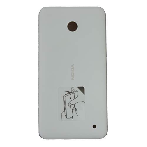waipawama batería tapa compatible con Nokia Lumia 630 635, blanco
