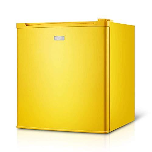 QTCD Debajo del mostrador, refrigerador Independiente de 50 l, termostato Ajustable, congelador, Mesa portátil compacta, Mini Baja energía, para el hogar, la Cocina, la Oficina