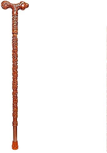 ZY Tige de Trekking Pliante Ancienne Canne /à Quatre Pieds /épaissie avec Une Canne l/ég/ère t/élescopique pour Les Personnes /âg/ées Tige de Trekking r/églable en Aluminium