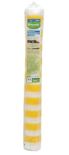 Floraworld 016846 zichtscherm/balkonbekleding classic, geel/wit, 500 x 11,5 x 90 cm
