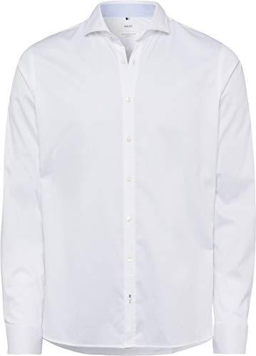 BRAX Herren Style Hiflex Easy Care Uni Slim Fit Freizeithemd, WEIß, XX-Large
