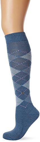 Burlington Whitby Damen Kniestrümpfe blueb.peel (6220) 36-41 One size fits all (Gr. 36-41)