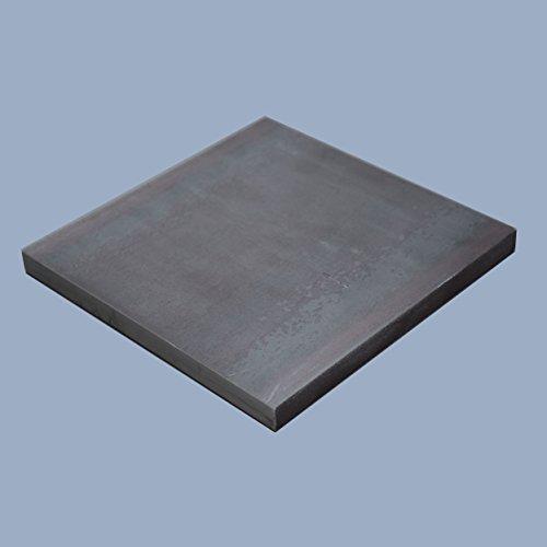 Flachstahl 400 x 250 x 10 mm Flacheisen Stahl Eisen S235JR ST37