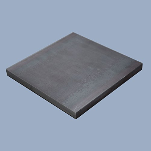 Ankerplatte, 200 x 200 x 10 mm Fußplatte Stahlplatte quadratisch, S235JR ST37