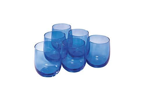 Rona Lunar Old Fashion 36 CL Verre Bleu