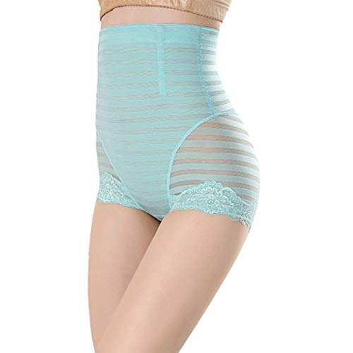 Women Butt Lifter Shapewear Pack of 3, Women Body Shapewear Best Slim Waist Trainer Corset Seamless High Waist Butt Lifter Tummy Control Panty Waist Trainer Body Shaper (Color : Blue, Size : XXL)