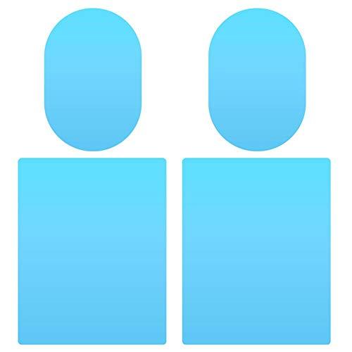 Ahomi 4 stuks/set auto-buitenspiegels raambeschermfolie anti-condens, regenbeschermfolie