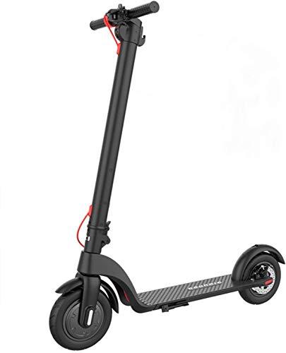 INOVIX Patinete eléctrico GRUNDIG, Patinete Plegable para Adultos y Adolescentes con neumáticos de 10