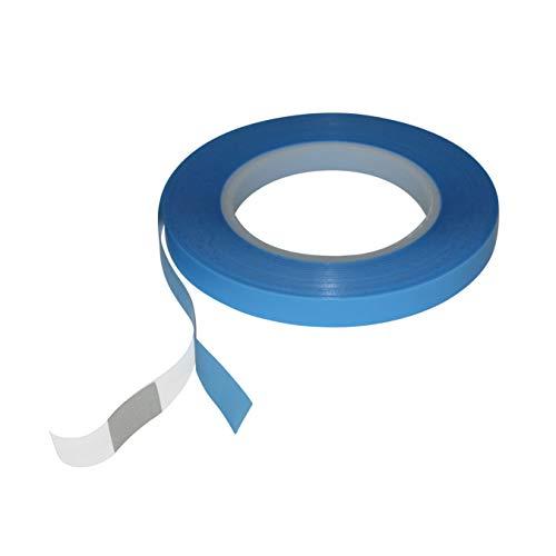 JVCC UHMW-PE-5 UHMW Polyethylen Film Tape: 1/2 in. x 36 yds. (Natürlich/Durchscheinend)