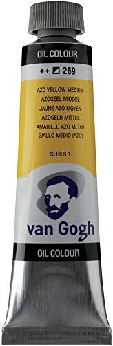 Royal Talens VGOC40-269 Van Gogh Oil Paint - Medium Azo Yellow