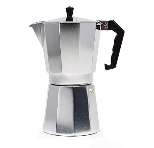 WAYDA Aluminum Stovetop Espresso Maker, 6-Cup Moka Coffee Pot, Italian Espresso Coffee Maker Percolator for Cappuccino