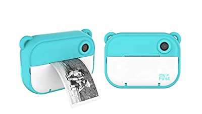 myFirst Camera Insta 2 Instant Camera Hybrid Instant Camera Pink Film Sticker (140 Shots) Front and Selfie Lens for boy Girl from OAXIS ASIA PTE LTD
