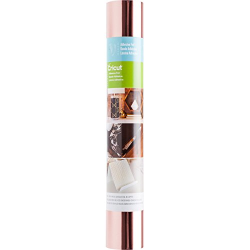 Cricut 2003651 Adhesive FOIL METALLIC Rose Gold 12X48, Multicolour, one Size