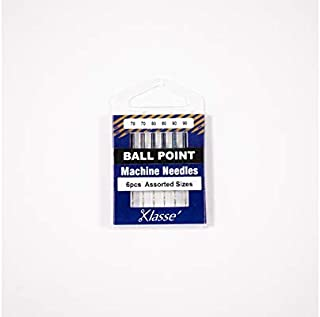 Klasse Ballpoint Needles, Assorted, 1 Pack, 6pcs, AA5101.991