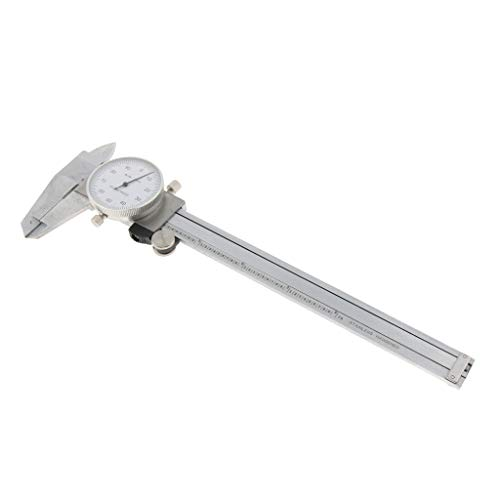 B Blesiya Micrómetro de Calibre Calibrador de Dial Caliper Accesorios de Laboratorios Producto Comercial