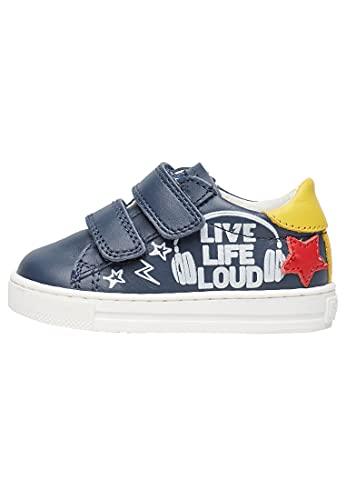 Falcotto LEVOLA VL-Sneaker con Stampe-Blu Blu 21
