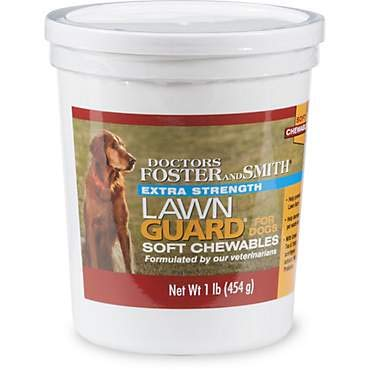 DRS. Foster and Smith Extra Strength Lawn Guard Soft Chews for Dogs (1 LBS)