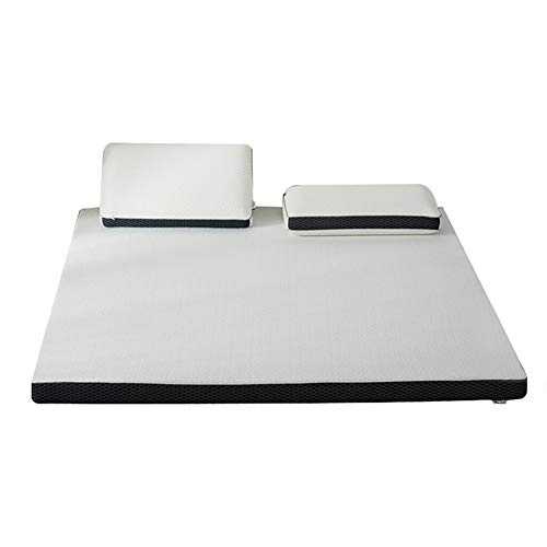 WENZH Mlily Memory Foam Mattress Toppper Slow Rebound 4cm Mattress King Queen Full Twin Size Bed Mattress Super Memory Foam (Size : 150x200x4cm)