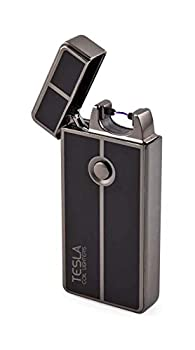 Tesla Coil Lighters USB Rechargeable Windproof Arc Lighter  1 Gun Metal