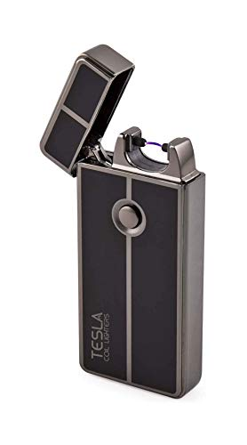 Tesla Coil Lighters USB Rechargeable Windproof Arc Lighter (1. Gun...