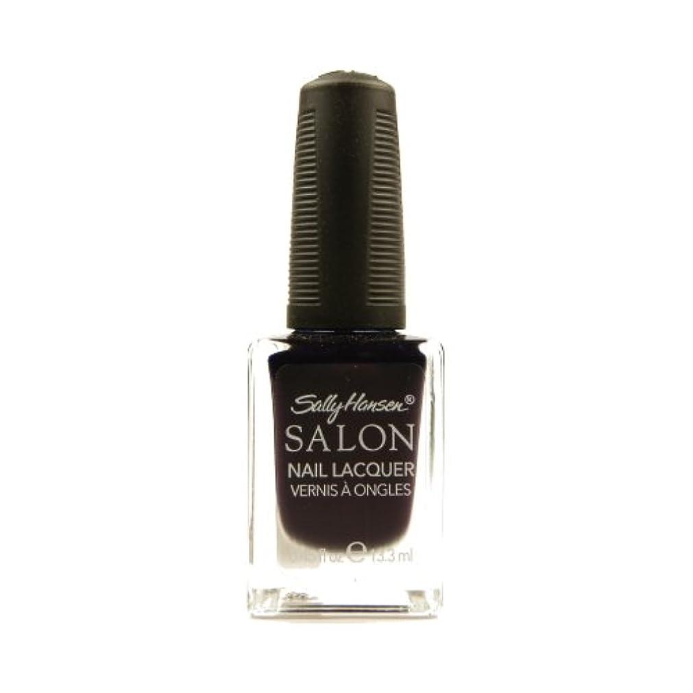 作る便宜ビジターSALLY HANSEN Salon Nail Lacquer 4134 - The Deepest of Violets (並行輸入品)