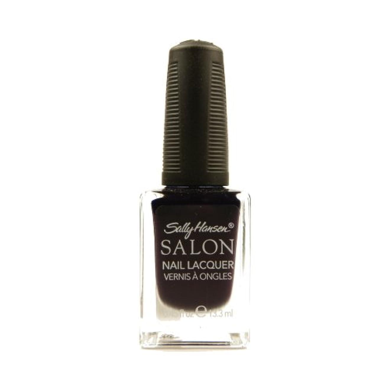はしご水平バットSALLY HANSEN Salon Nail Lacquer 4134 - The Deepest of Violets (並行輸入品)