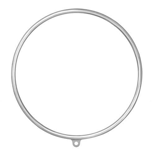 Popsport Lyra Hoop Circus Aerial Equipment Yoga Hoop Single Point Aerial Ring Set (80cm Single)
