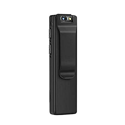 DEXILIO Mini Body Camera, Portable HD 1080P Wireless Wearable Video Recorder with Clip/Motion Detection/Magnetic,Small Pocket Camcorder for Home and Office (with 32GB Card) by DEXILIO GlOBAL