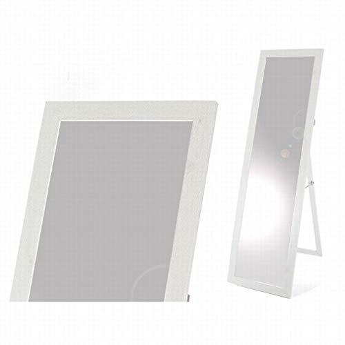 Gerimport Espejo de pie Kurst Blanco Medidas 120 x 30 cm