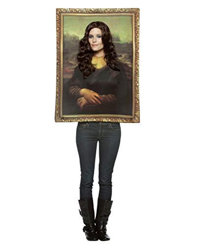 Horror-Shop Traje Retrato de Mona Lisa