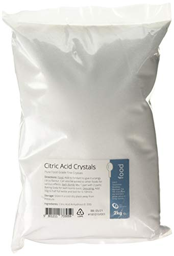 Purest Food Grade Anhydrous Ultra Fine Powder CITRIC ACID 250g