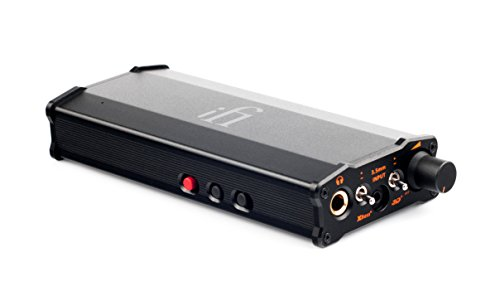 iFi xCAN Portable Balanced Dual Mono Headphone Amplifier with Bluetooth AptX and AAC Codecs for 2.5mm and 3.5mm TRRS and TRS Connectors Audio Upgrade