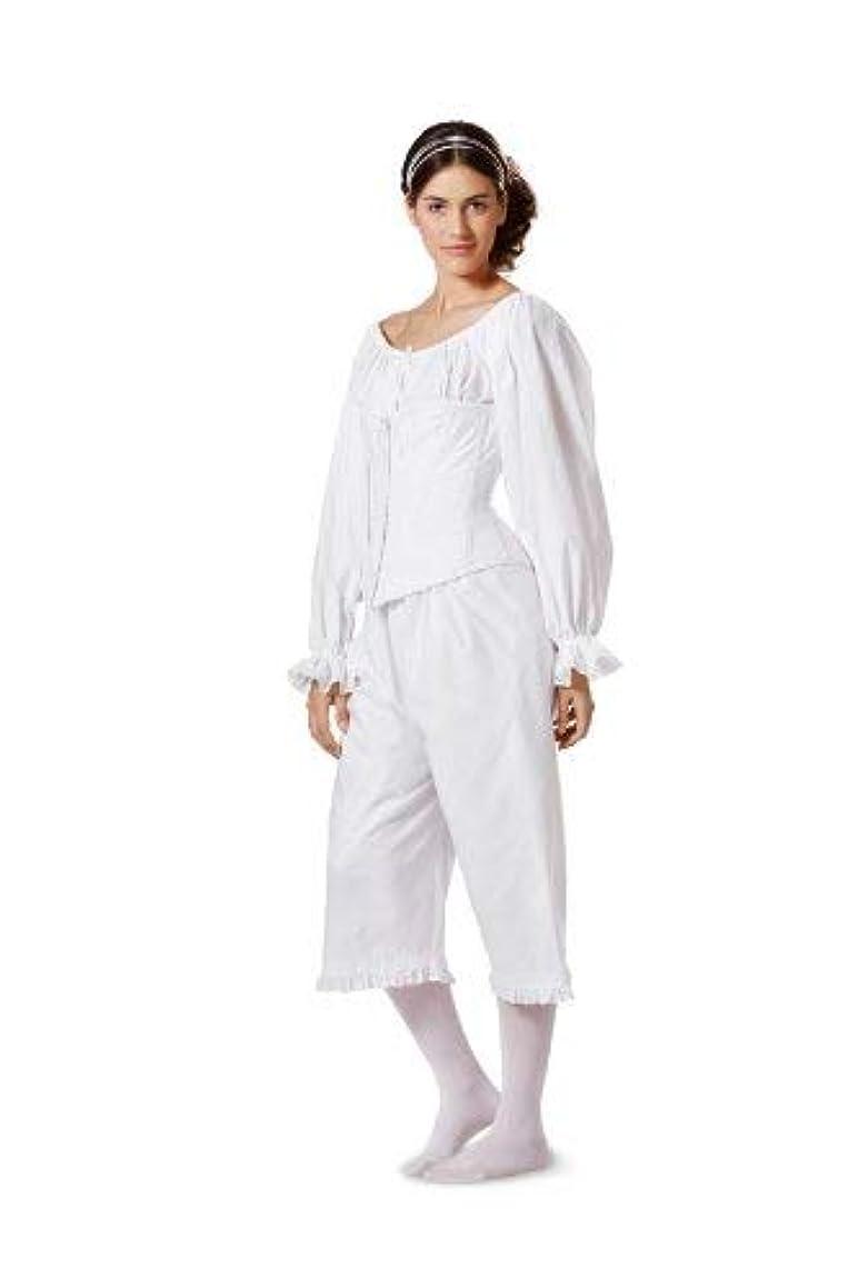 7156 Burda Style Historical Undergarments Sewing Pattern Sizes 10-24 Nightdress, Pantaloons, and Corset