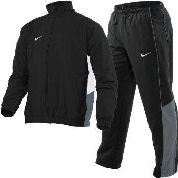 Nike Herren Präsentations-Anzug, Herren, schwarz / grau