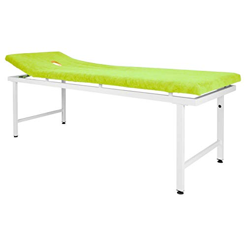 Massagenliegenbezug mit Nasenschlitzöffnung, 200x65 cm