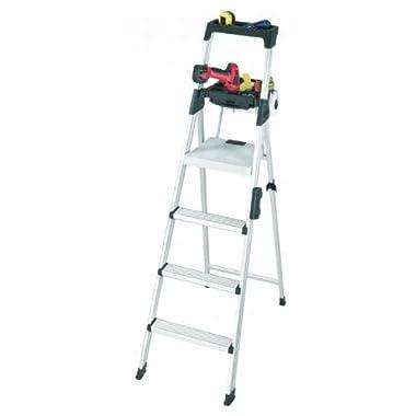 Cosco 20-61AABL Signature Series Premium Aluminum Type T1A Step Ladder, 6-Foot