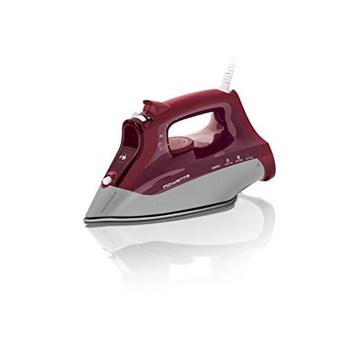 Rowenta Effective Antical DW4205 Plancha de vapor 2450 W, golpe vapor de 140 g/min y constante de 35 gr/min, recolector de cal y función antical, suela Microsteam 300 Láser antigoteo, Modo Eco