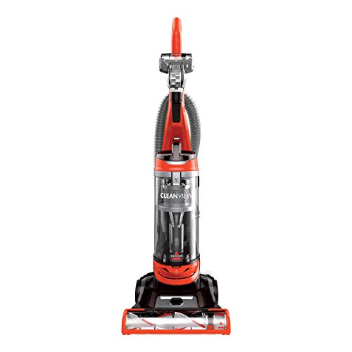 BISSELL Cleanview Bagless Vacuum Cleaner, 2486, Orange (Renewed)