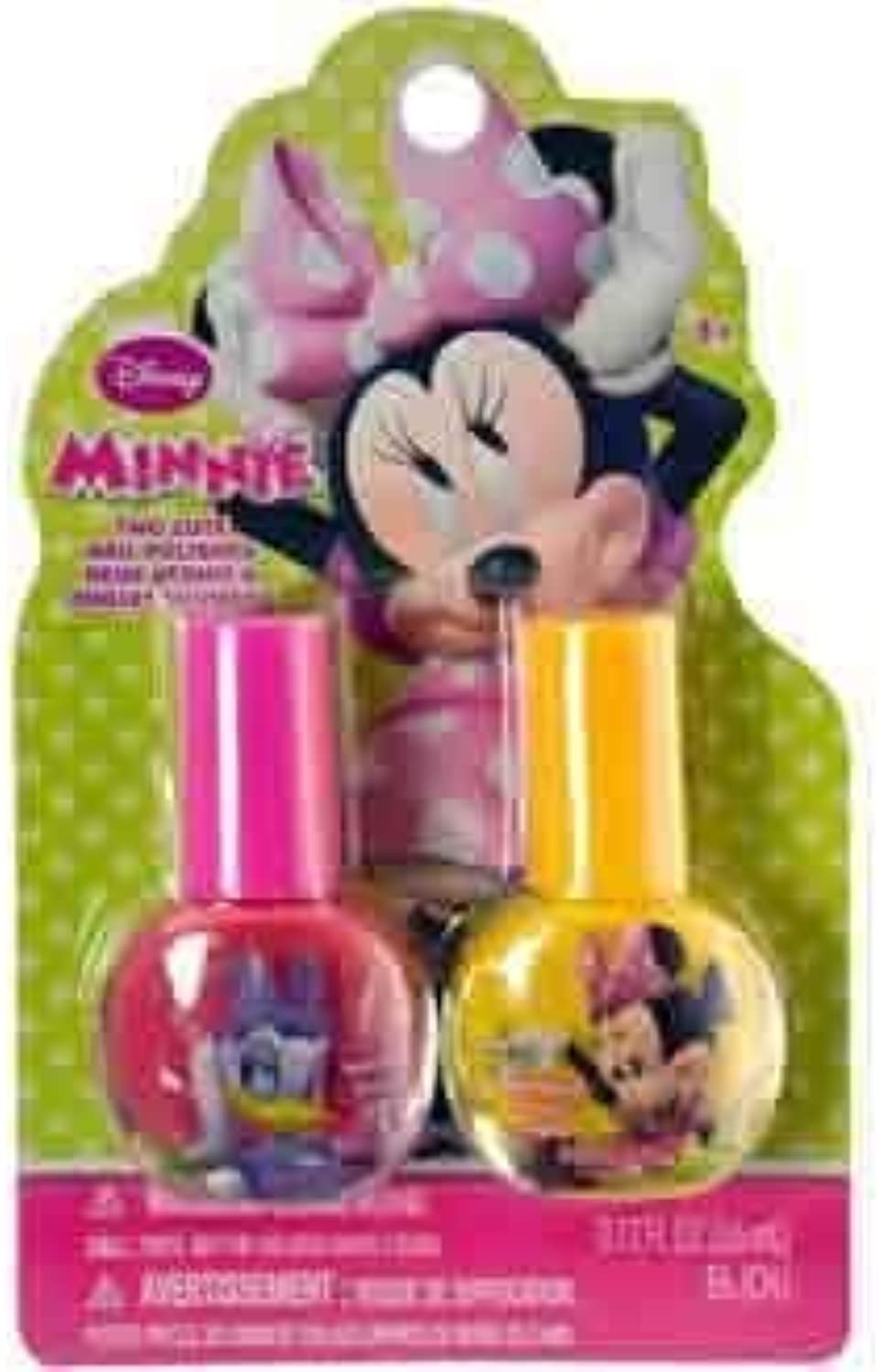 Minnie Mouse Nail Polish 2pc [6 Retail Unit(s) Pack] - MB0278SA by UP