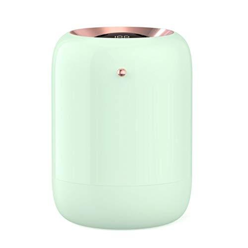 SODIAL Humidificador de Aire del Hogar Doble Boquilla Difusor de Aroma de Niebla FríA Humidificador USB UltrasóNico de Niebla Pesada Verde