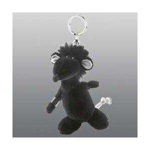 Nici 28993 - Rock Star Baby Schlüsselanhänger Ratte Größe: 10 cm