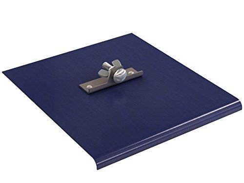 Bon 22-757 Blue Steel Walking Edger, 9-inch x 10-inch, 3/8-inch Radius, 1/2-inch Depth