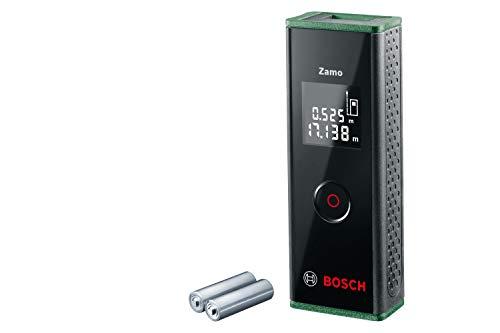 Bosch Laser-Entfernungsmesser Zamo (3. Generation, Messbereich: 0,15 – 20,00 m, Karton)