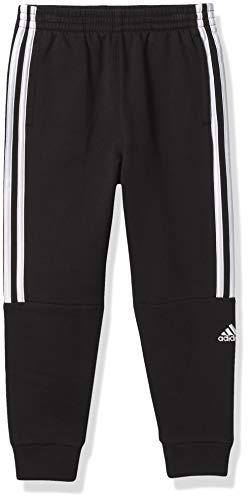 adidas Boys' Active Sports Athletic Jogger Sweatpant, Core Badge Black, 5