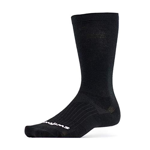 Swiftwick - Pursuit Business EIGHT, Black, Large